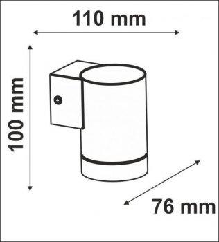 Настінний світильник Polux 304063 NIVERO LED
