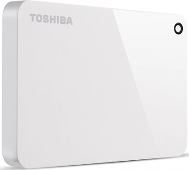 "Жорсткий диск Toshiba Canvio Advance 1TB HDTC910EW3AA 2.5"" USB 3.0 External White"
