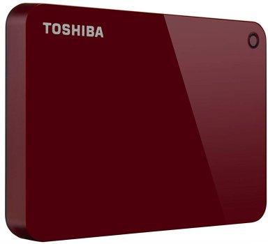 "Жорсткий диск Toshiba Canvio Advance 1TB HDTC910ER3AA 2.5"" USB 3.0 External Red"