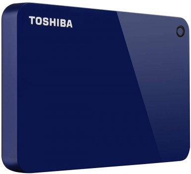 "Жорсткий диск Toshiba Canvio Advance 1TB HDTC910EL3AA 2.5"" USB 3.0 External Blue"