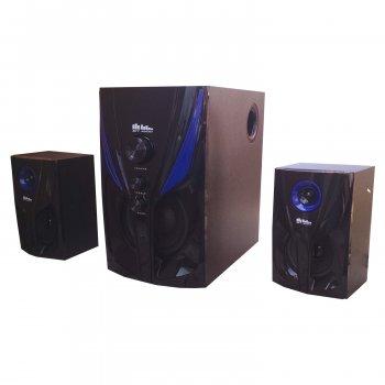 Музичні колонки 2.1. Домашній музичний центр 25Вт. USB/SD/AUX/Bluetooth/FM-радіо (4809)