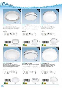 Світильник настінно-стельовий світлодіодний Eglo 95693 ONTANEDA 1
