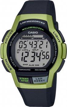Чоловічі годинники Casio WS-1000H-3AVEF
