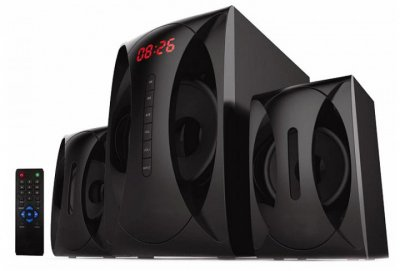 Акустика Golden Field LA-120C BT черная 2.1 20Вт Bluetooth