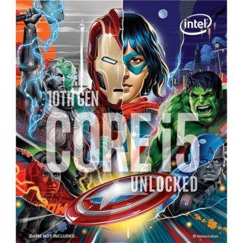 Процесор Intel Core i5-10600K 4.1 GHz/12MB (BX8070110600KA) s1200 Marvels Avengers Collectors Edition BOX