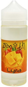 Рідина для електронних сигарет Zenith Lyra 3 мг 120 мл (Манго + полуниця) (Z-L-120-3)
