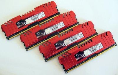 Оперативная память G.Skill DDR III 4GB 1866 MHz (F3-14900CL9Q-16GBZL)