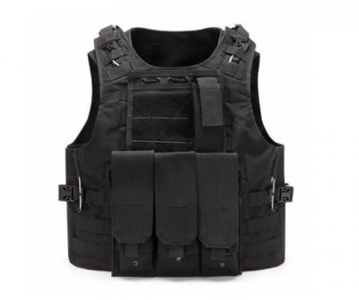 Жилет тактичний військовий ABX A56 Чорний