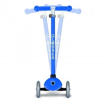 Самокат Globber Primo Lights колеса с подсветкой до 50 кг 3+ 3 колеса Синий (423-100-3)