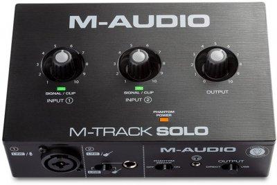 Аудіоінтерфейс M-Audio M-Track Solo
