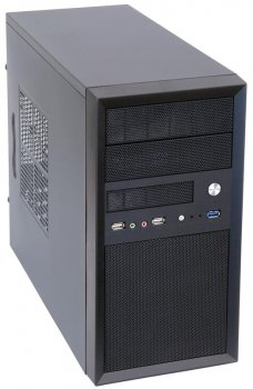 Корпус Chieftec Mesh CT-01B-400S8, 400W, 1xUSB3.0, Black