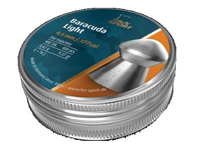 Кулі пневм H & N Baracuda Light, 4,51 мм, 0.62 г, 400шт / уп
