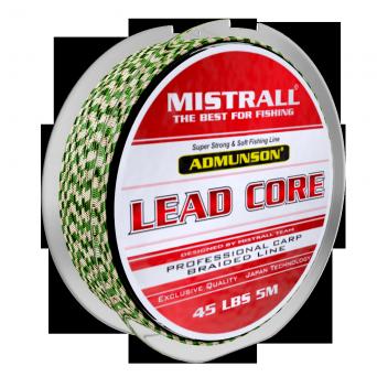 Лідкор MISTRALL Admunson BL Green/Black 5m 55lbs