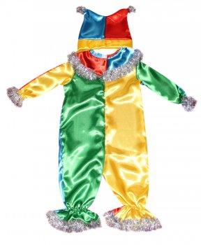 Детский карнавальный костюм Петрушка 110-116 см