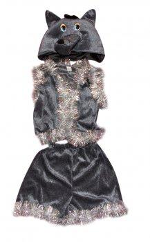 Детский карнавальный костюм Волк 110-116 см