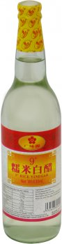 Уксус GWY рисовый спиртовой 9% 630 мл (6932603858020)