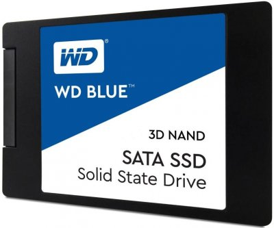 "Накопичувач SSD 2.5"" SATA 250Gb WD Blue (WDS250G2B0A)"