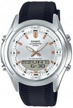 Наручний чоловічий годинник Casio AMW-840-7AVDF