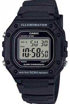 Наручний чоловічий годинник Casio W-218H-1AVEF