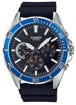 Наручний чоловічий годинник Casio MTD-320-1AVDF