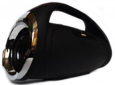 Портативна бездротова bluetooth стерео колонка T&G Mini Boombox Чорна (Boombox mini Black)