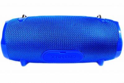 Портативна бездротова Bluetooth стерео колонка вологостійка T&G Xtreme 2 small Синя (Xtreme 2 small Blue)