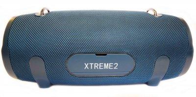 Портативна бездротова Bluetooth стерео колонка T&G Xtreme 2 Big Синя (Xtreme 2 Blue)