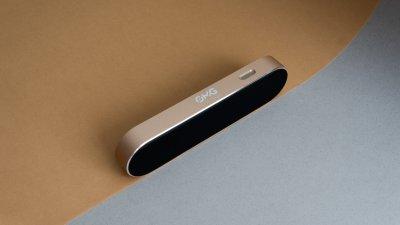 Портативная колонка OMG Inspire 220 Portable Bluetooth Speaker Gold (золотой)