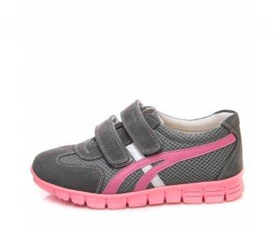Кросівки minipicco F6024 2 лип. сірі/рожев