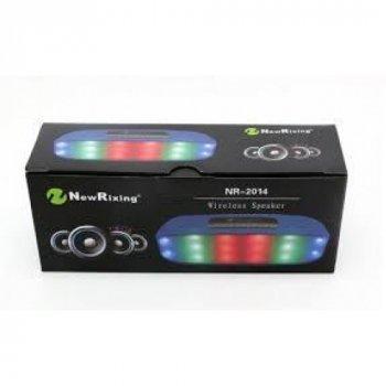 Портативная переносная колонка New Rixing NR-2014 2*3W Bluetooth