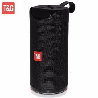 Портативна Bluetooth стерео колонка вологостійка MEGA BASS TG-113 Чорна (113 Black)
