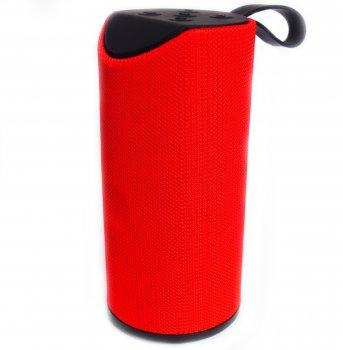 Портативна Bluetooth стерео колонка вологостійка MEGA BASS TG-113 Червона (113 Red)
