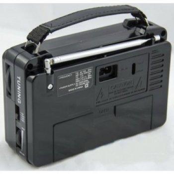 Всехвильовий радіоприймач GOLON RX-606 AC (SM00131)
