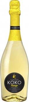 Напиток на основе вина КОКО Mango белый сладкий 0.75 л 5.0-6.9% (4820001462722)