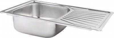 Кухонная мойка LIDZ 7848 Micro Decor 0.8 мм (LIDZ7848MDEC)