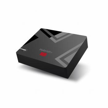 Смарт ТВ приставка MECOOL K5 DVB T2 + S2 + C Hybrid TV Box