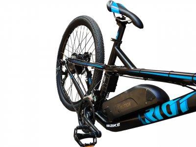 "Електровелосипед RIOT 36V 12Ah 500W / рама 18"" чорно-синій (RIOT3612500BB)"