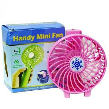 Вентилятор мини ручной HANDY MINI FAN Розовый (BS2126)