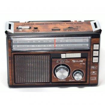 Радиоприемник GOLON RX-382 Коричневый (BS2171)