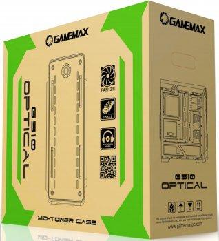 Корпус GameMax Optical White