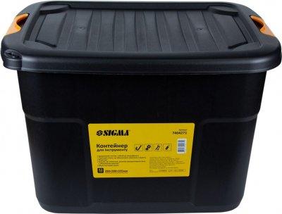 Контейнер для инструмента Sigma 42 л 390 х 500 х 335 мм (7404271)