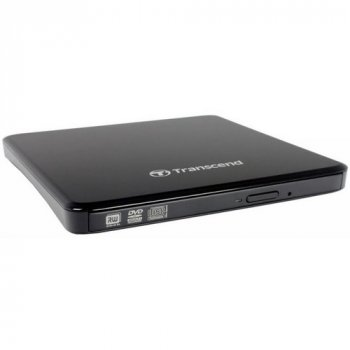Пишущий портативный CD/DVD привод Transcend TS8XDVDS-K