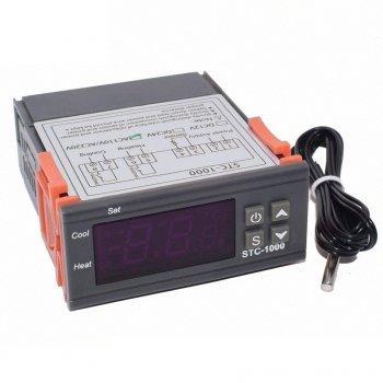 Цифровий терморегулятор з датчиком температури -50+99°С KETOTEK STC-1000 10А 220В