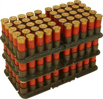 Подставка MTM Shotshell Tray на 50 глакоств. патронов 20 кал. Цвет - черный. 17730898