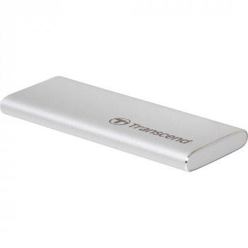 Внешний SSD накопитель TRANSCEND ESD240C 480GB USB 3.1 GEN 2 TLC (TS480GESD240C)