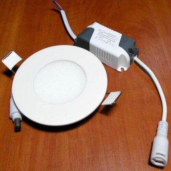 Світильник світлодіодний Biom PL-R3-3 3W 3000К