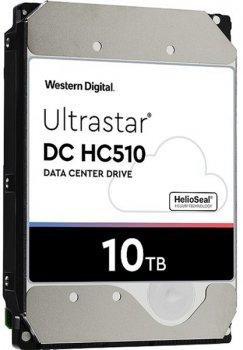 "Жорсткий диск Western Digital Ultrastar DC HC510 10TB 7200rpm 256MB HUH721010ALE604_0F27606 3.5"" SATA III"