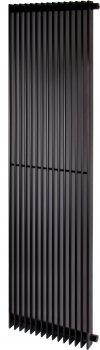 Радиатор трубный BETATHERM Metrum 1800x465x92 мм вертикальный Ral 9005M