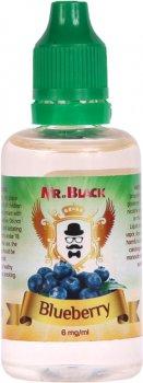 Рідина для електронних сигарет Mr.Black Blueberry 6 мг 50 мл (Ароматна чорниця) (MR7800)