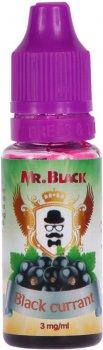 Жидкость для электронных сигарет Mr.Black Black Currant 3 мг 15 мл (Вкусная смородина) (MR6910)